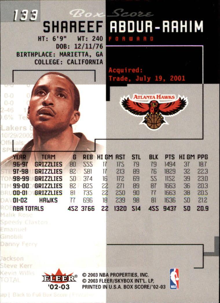 2002-03-Fleer-Box-Score-Basketball-Card-Pick thumbnail 265