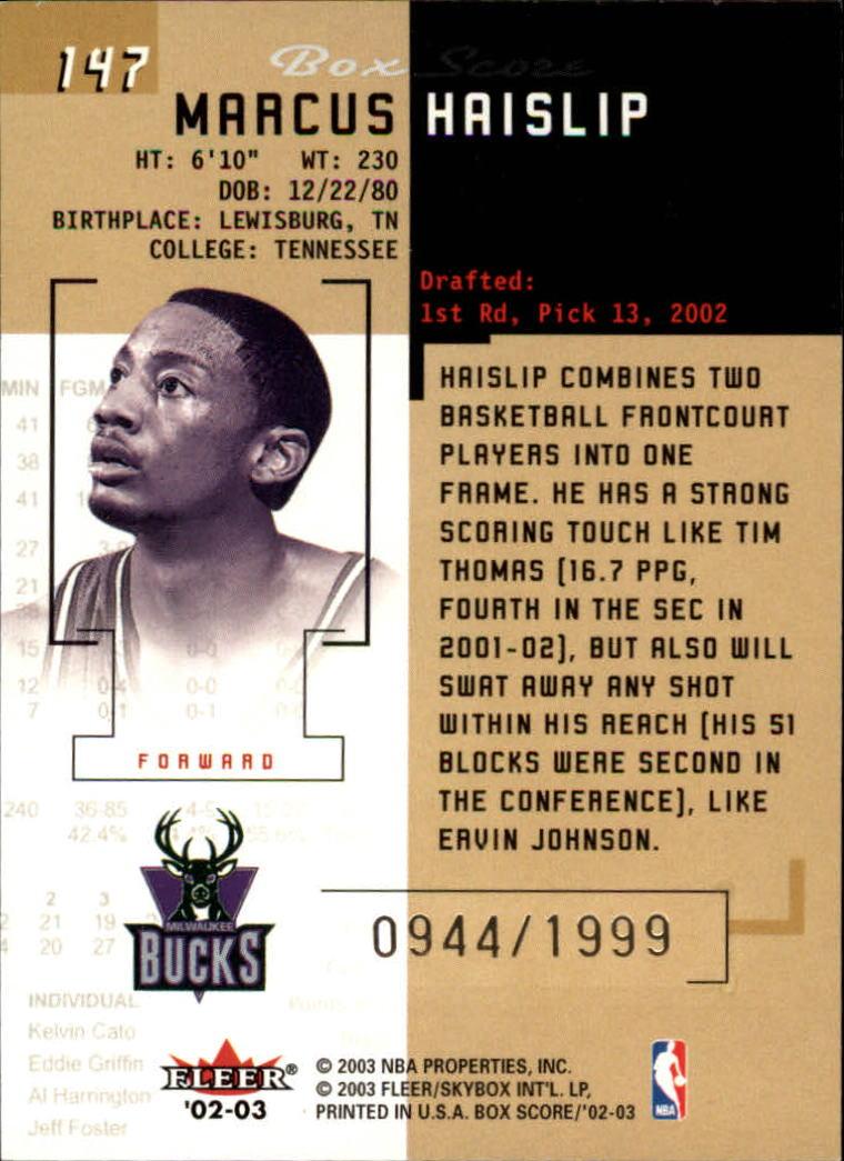 2002-03-Fleer-Box-Score-Basketball-Card-Pick thumbnail 279