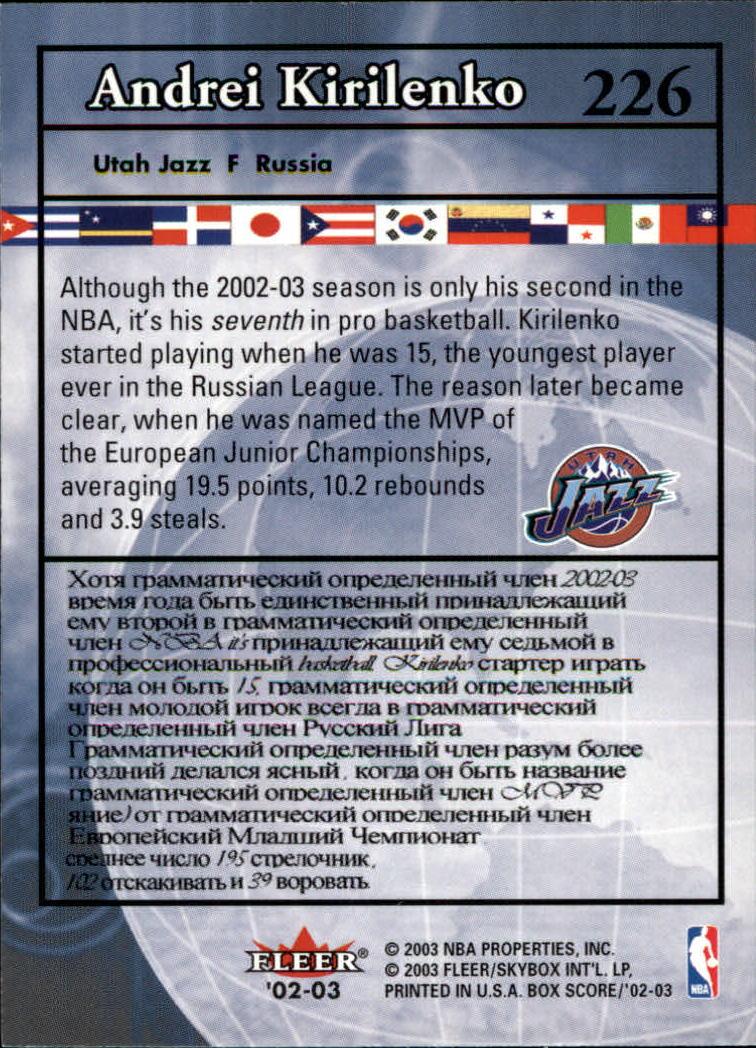 2002-03-Fleer-Box-Score-Basketball-Card-Pick thumbnail 299