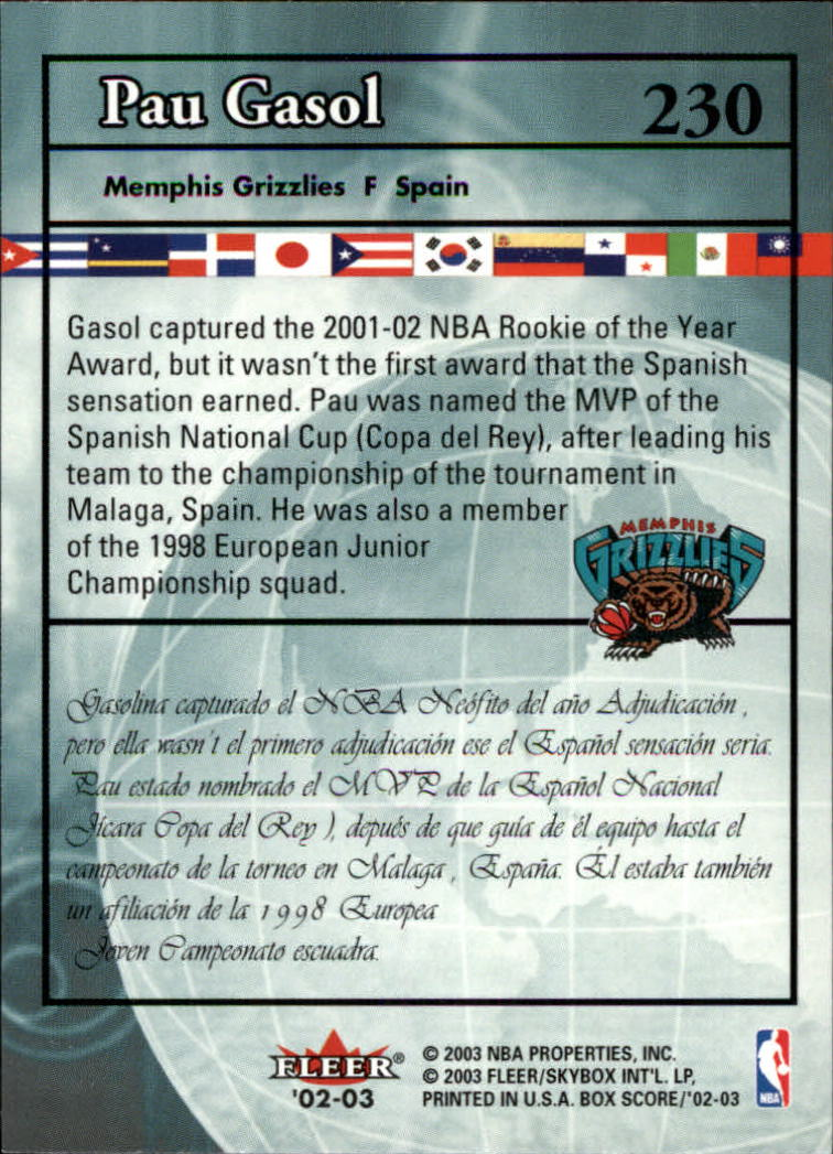 2002-03-Fleer-Box-Score-Basketball-Card-Pick thumbnail 301