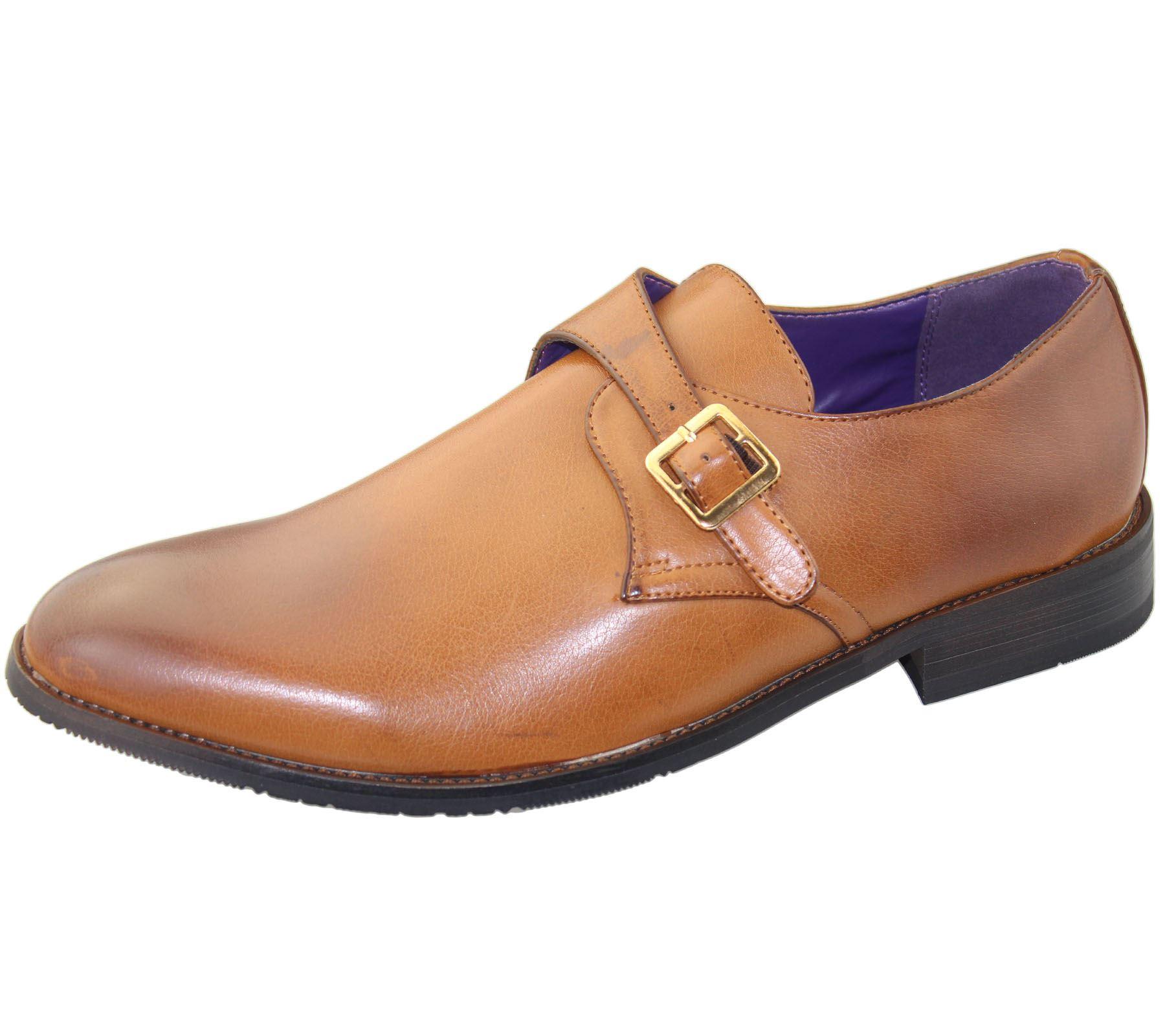 Hombre-Oficina-Cordones-Zapatos-Oxford-Boda-Casual-Formal-Elegante-Vestido