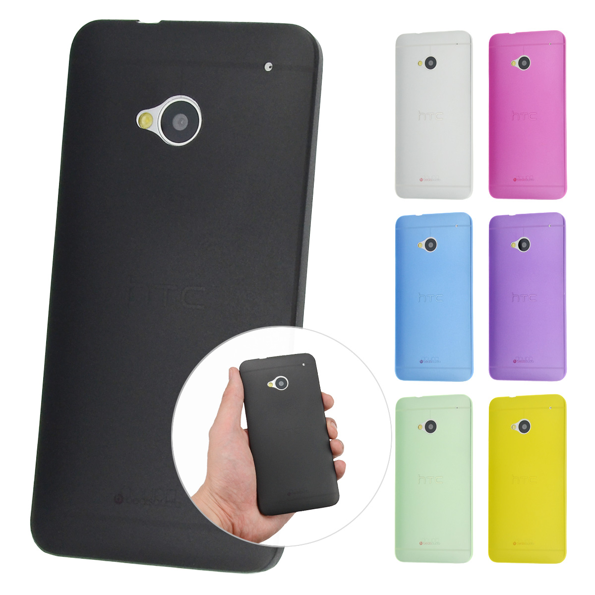 thumbnail 9 - Ultraslim-Case-HTC-One-M8-Fine-Matte-Protective-Case-Skin-Cover-Film