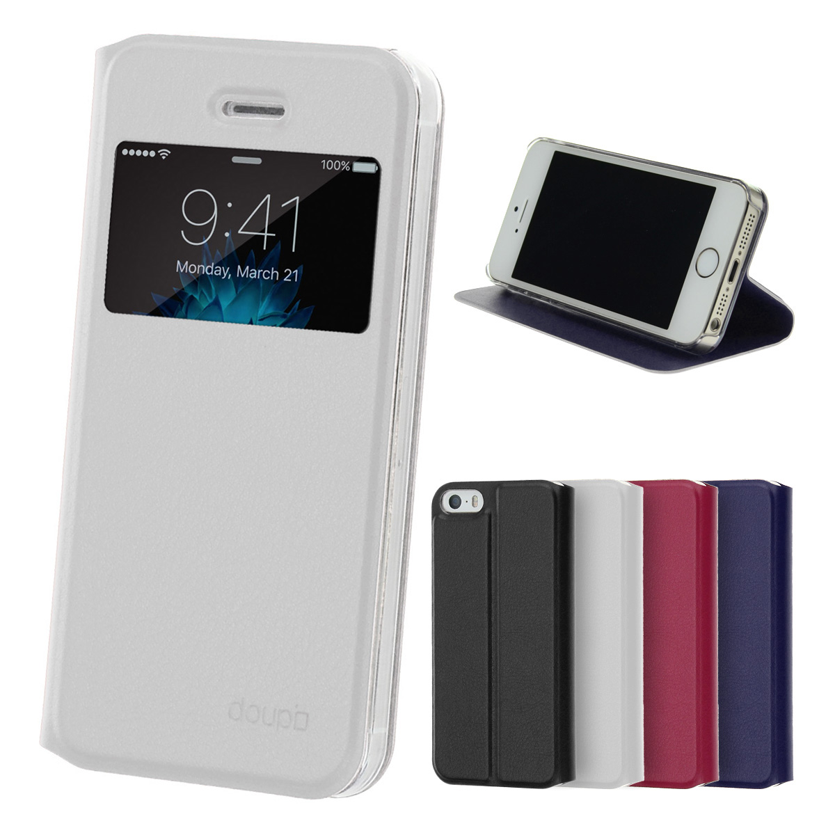 custodia flip iphone 5