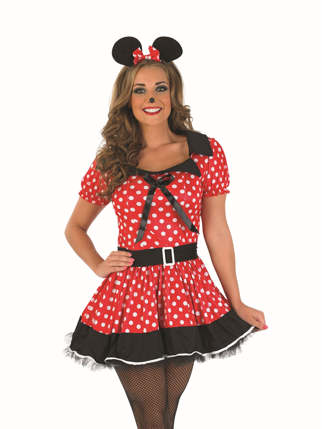 damen erwachsene missy minnie mickey mouse disney maskenkost m ohren s sexy ebay. Black Bedroom Furniture Sets. Home Design Ideas