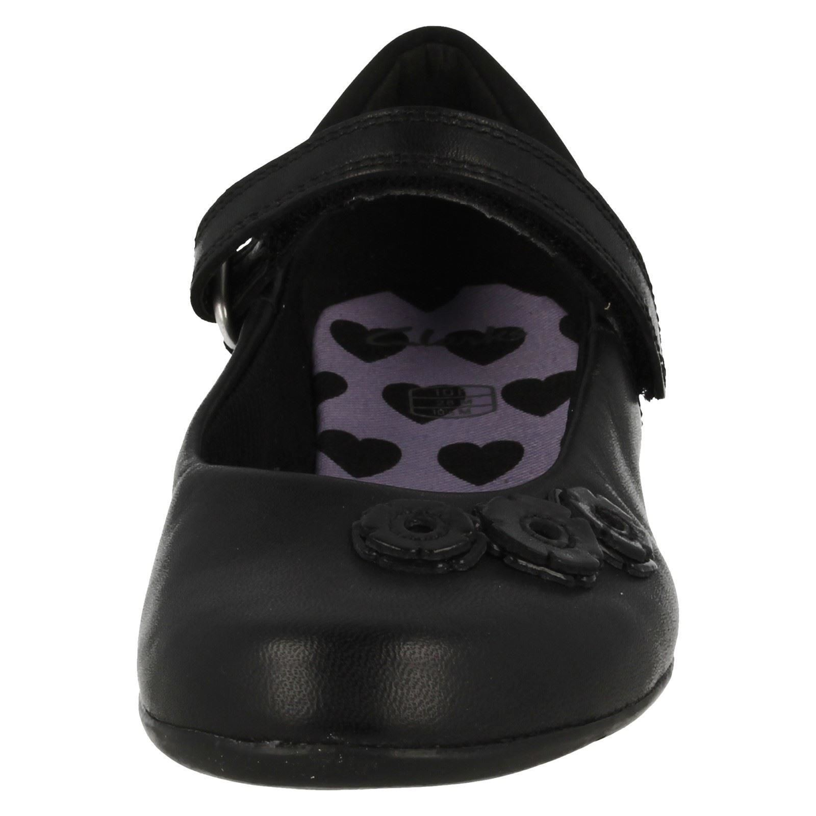 Girls Clarks Mary Jane School Shoes Dance Crush