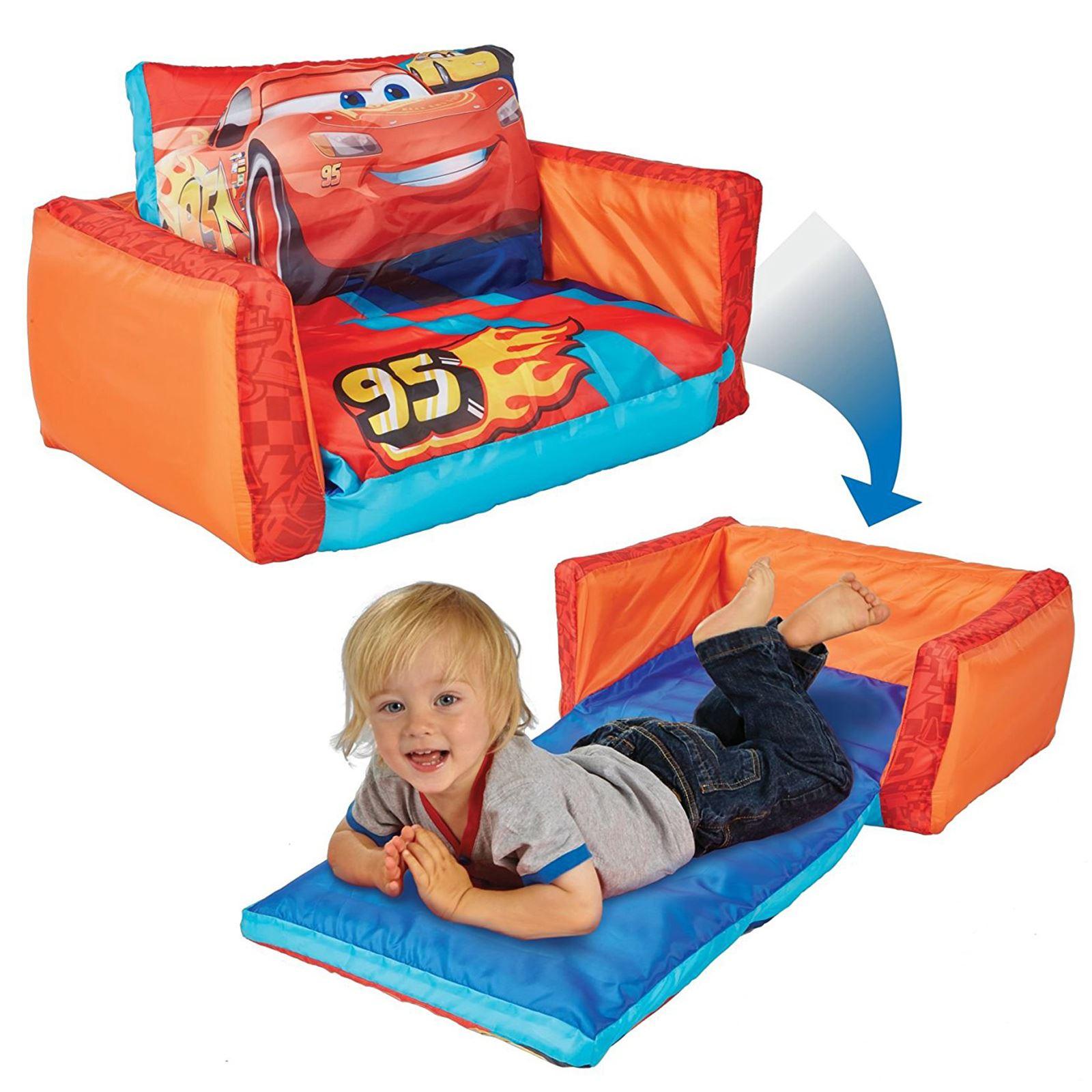 Canape-Lit-Gamme-Gonflable-Chambre-D-039-Enfants-Neuf-les-Minions