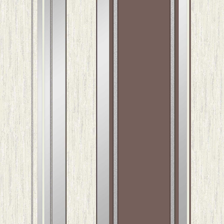 vymura synergie schokobraun grau silber glitzer tapete. Black Bedroom Furniture Sets. Home Design Ideas