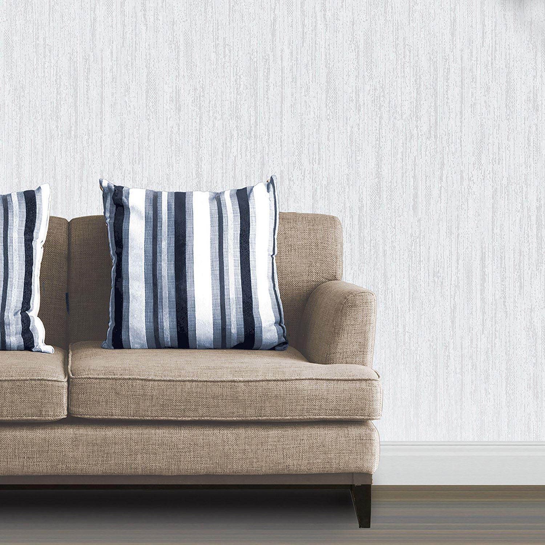 vymura synergie tauben grau wei silber glitzer tapete streifen blumenmuster uni ebay. Black Bedroom Furniture Sets. Home Design Ideas