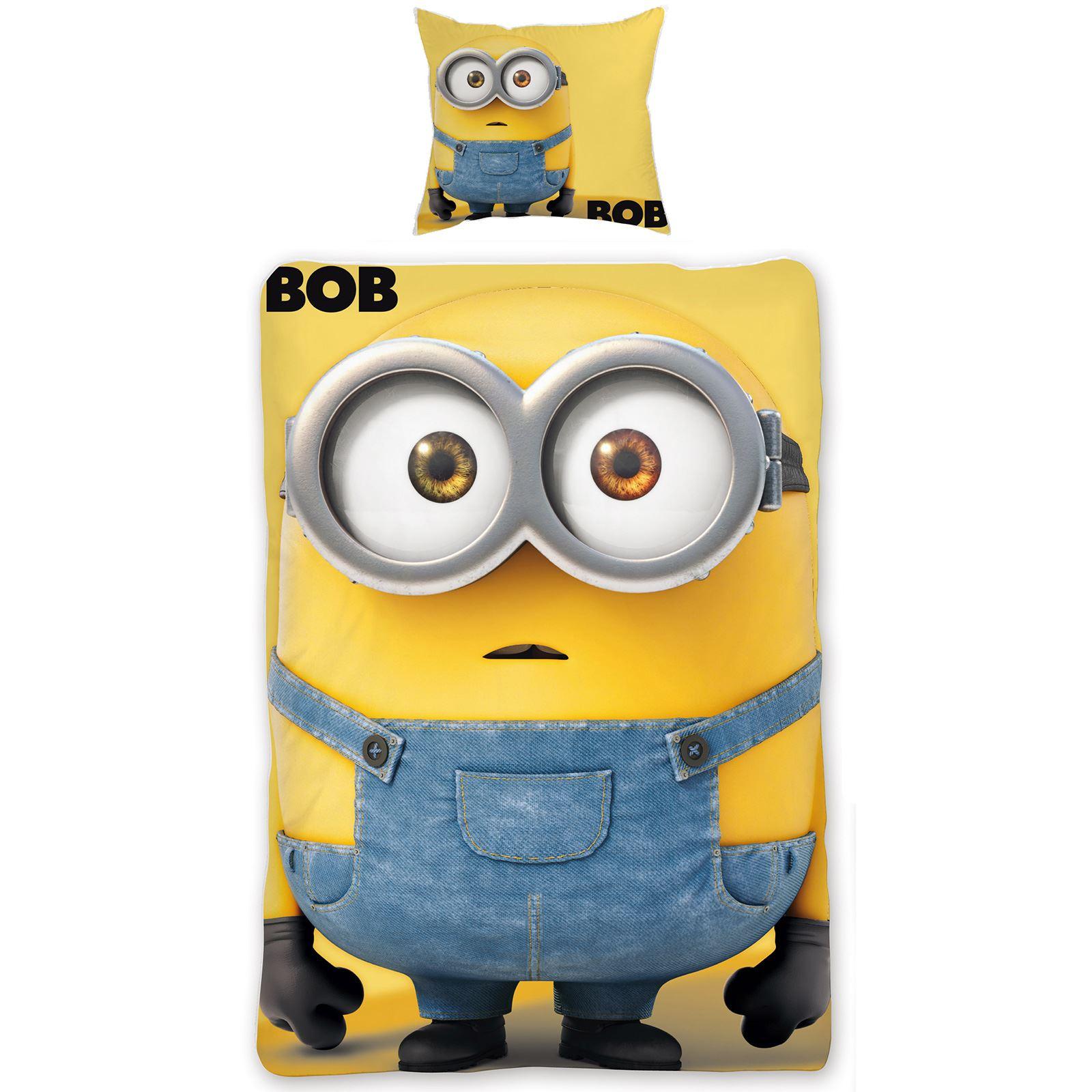 Oficial-Despicable-Me-Minions-Menor-Individual-Edredon-Doble-Fundas-Ropa-de-Cama miniatura 37