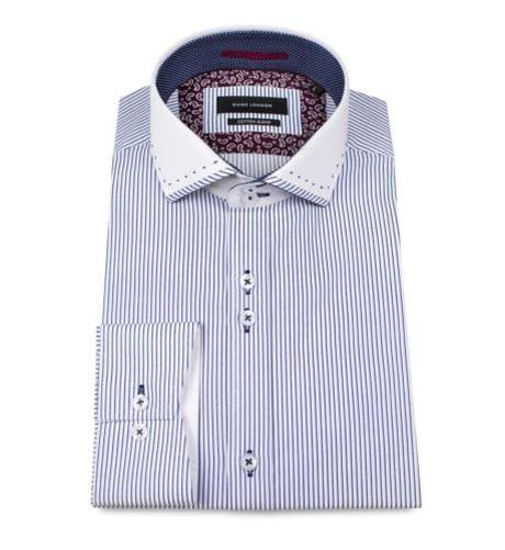 Coutures Contraste Angle Manchette Guide En Homme London Avec Ls74370 n6vaYRwq