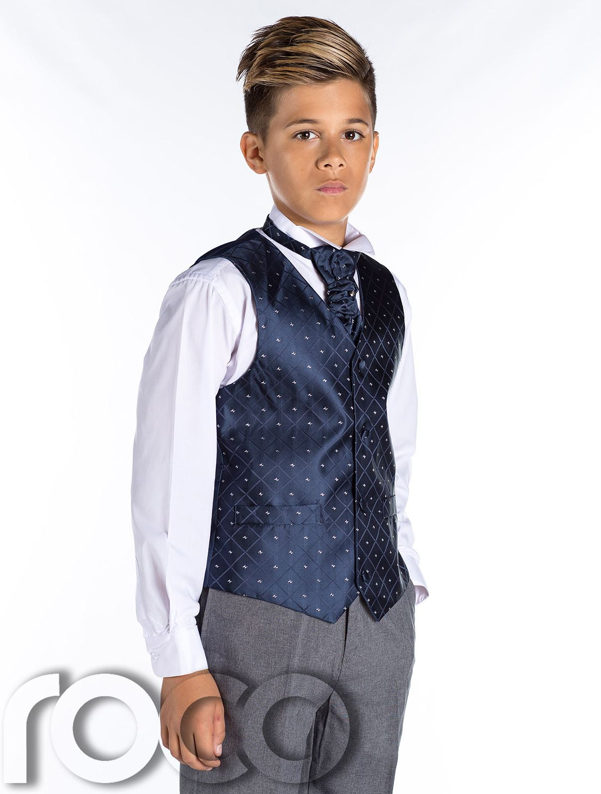 Boys Waistcoat Suit Page Boy Suit Boys Formal Suit Boys Prom Outfit | eBay