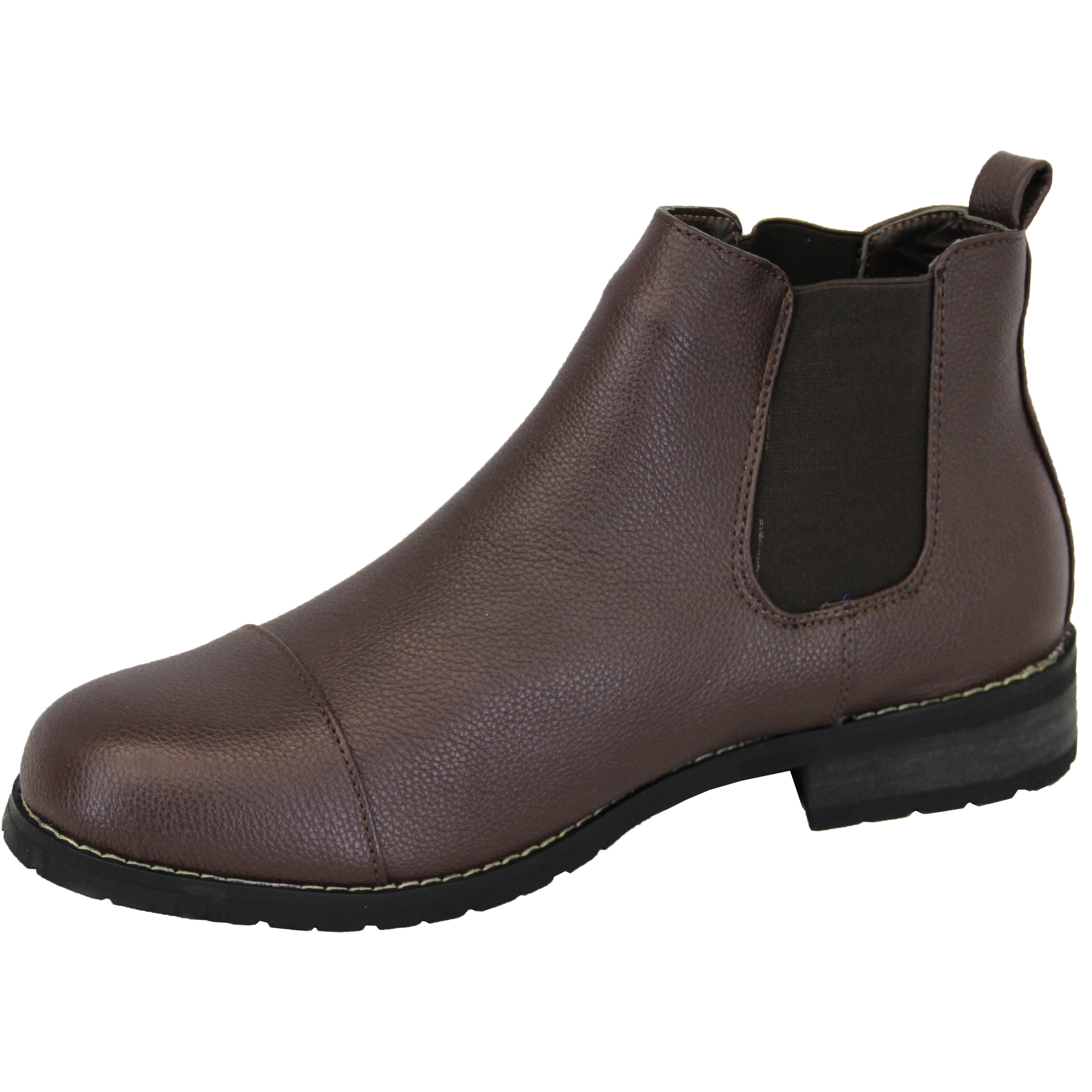 Mens Chelsea Boots Rock U0026 Religion Dealer High Ankle Leather Look Shoes Designer | EBay