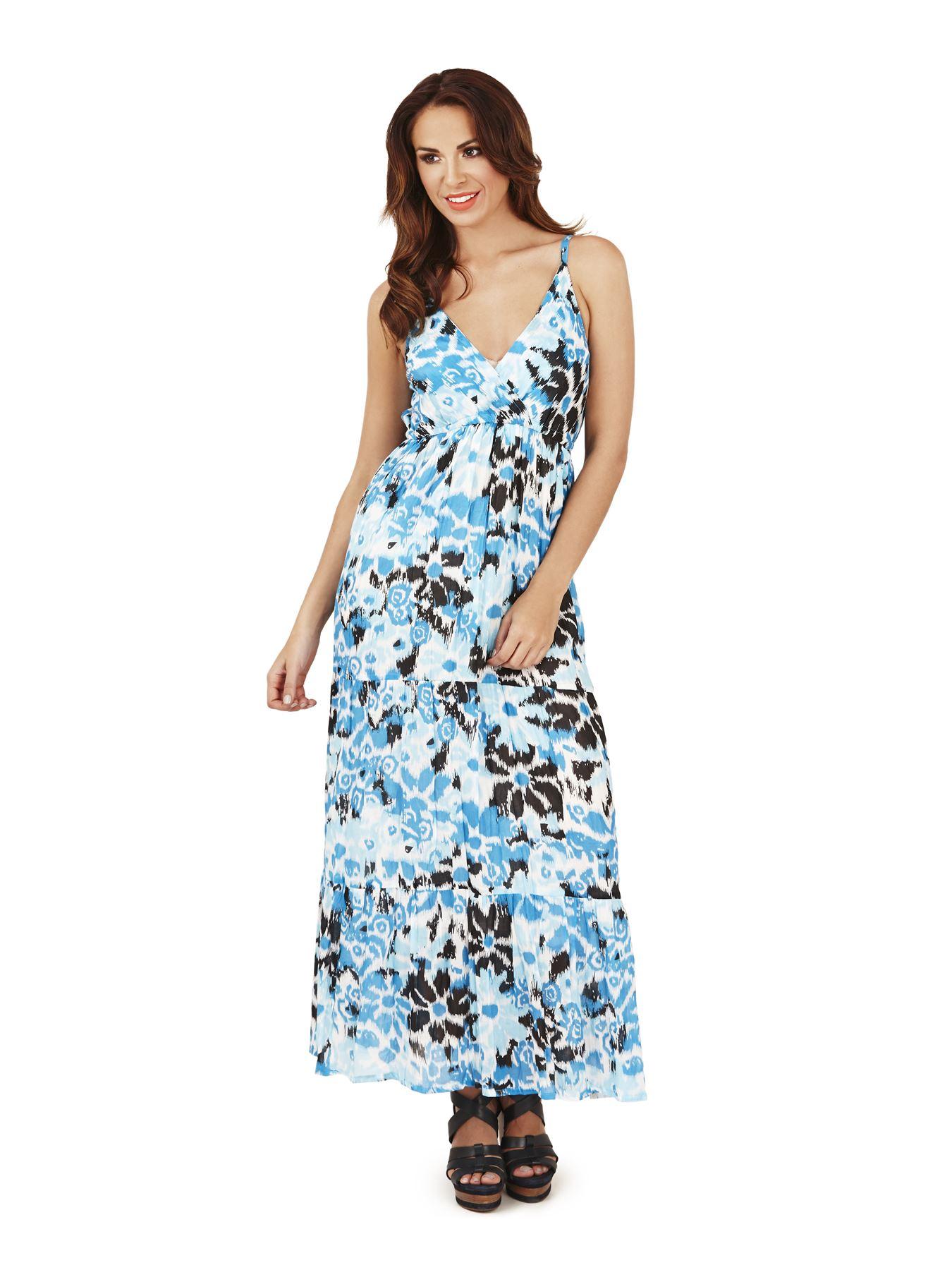 Martildo Womens Summer Beach Cotton Dress Straps Light ...