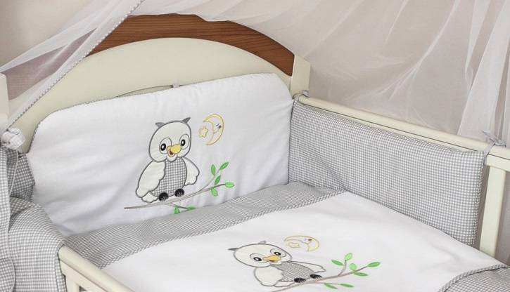 3 teile st ck kinderzimmer baby bettw sche nestchen set safety gepolsteter ebay. Black Bedroom Furniture Sets. Home Design Ideas