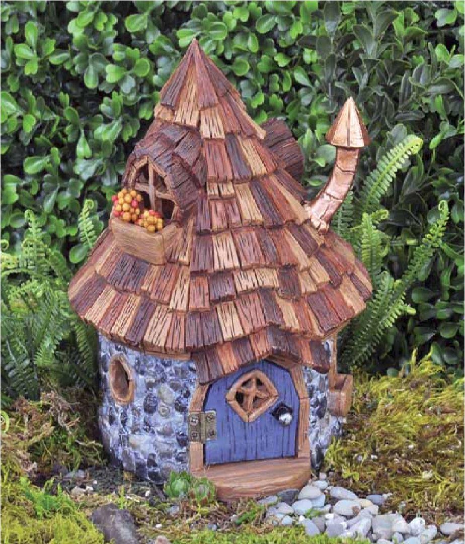fiddlehead schindel shingletown gnom m rchen garten elfe haus wohnungszubeh r ebay. Black Bedroom Furniture Sets. Home Design Ideas