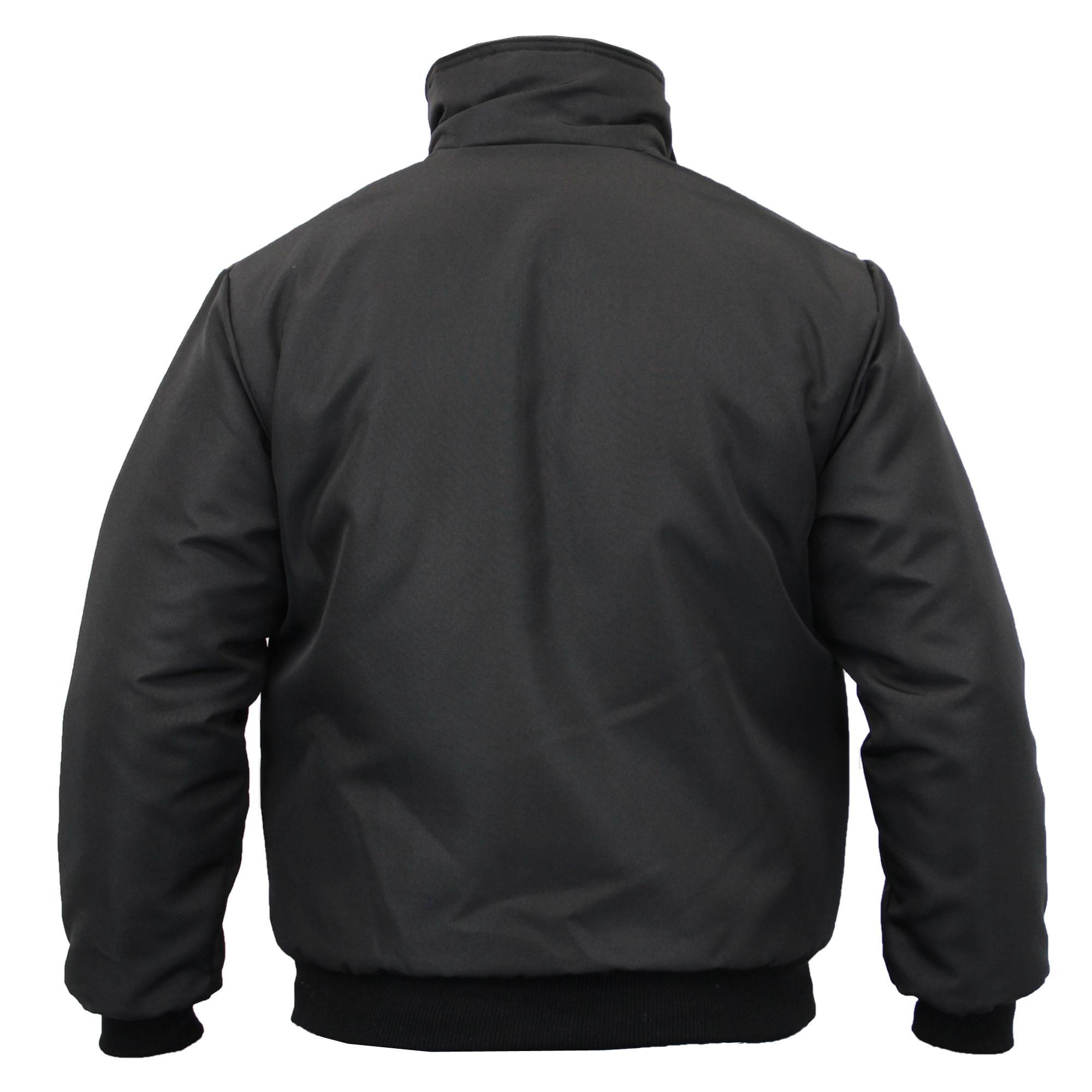 Raiken Mens Sky Diver Bomber Warm Padded Jacket Check Lined Work Winter Coat