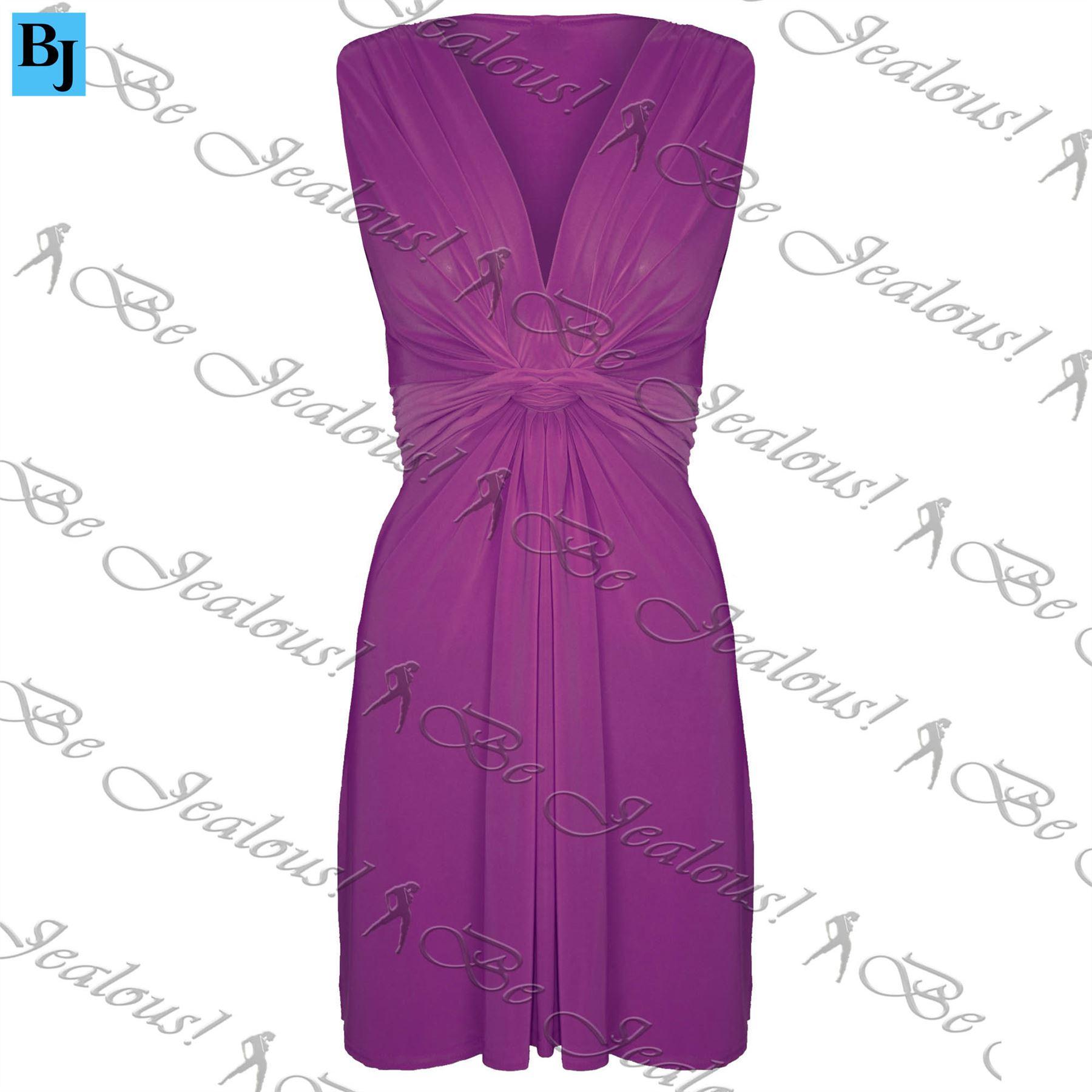 Vestido De Verano nudo de lazo con cinturón de giro para mujeres ...