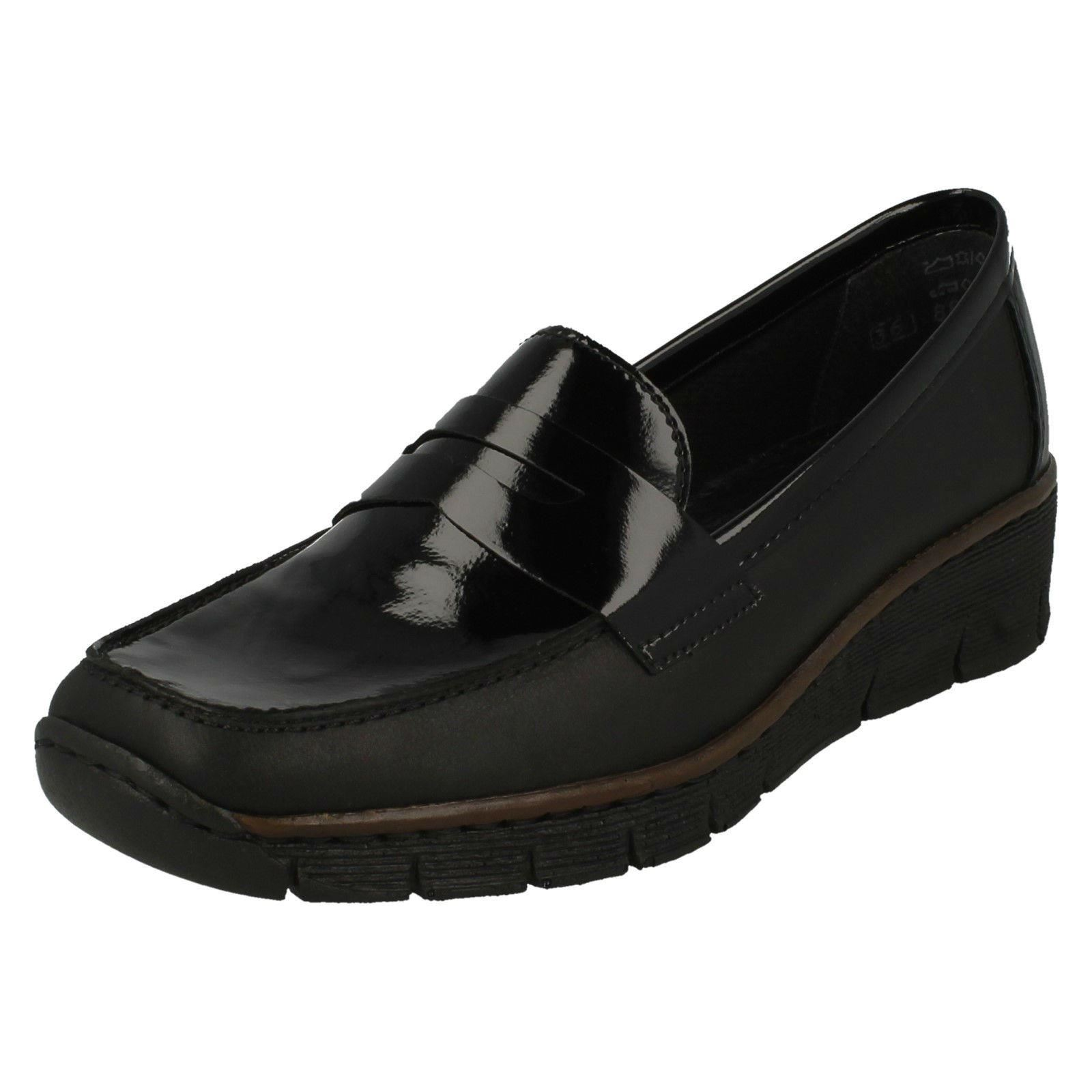 Damen Rieker 53752 Smart Slipper Stil Schuhe 53752 Rieker a1d08e