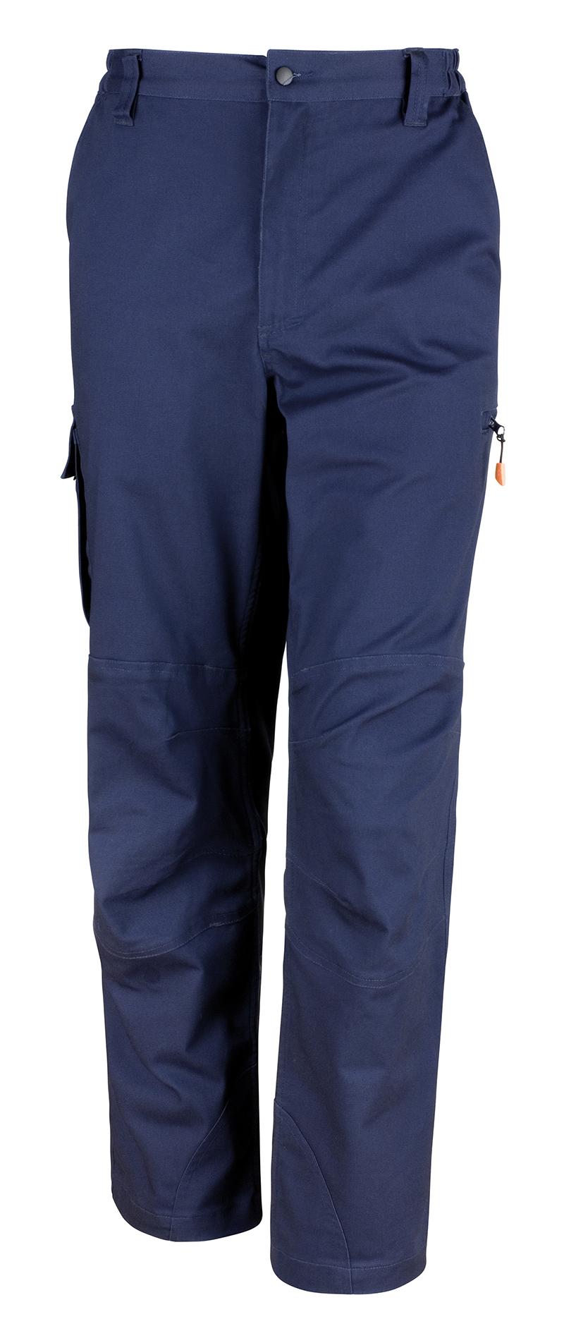 Result Result Result WORK-GUARD Hombre Elástico Ropa De Trabajo Pantalón protector Contructor 0b4c4e