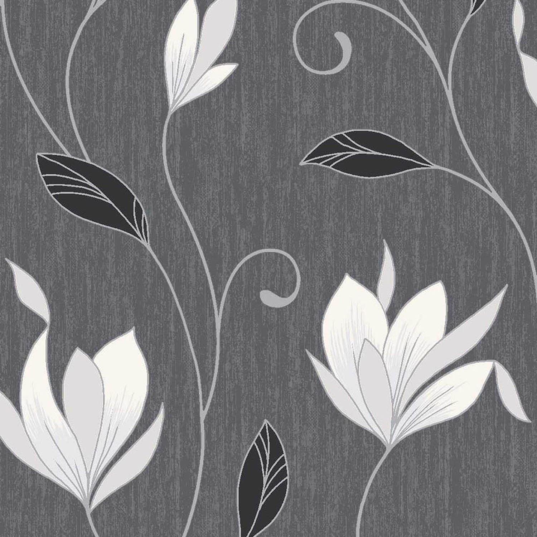 vymura synergie ebenholz schwarz wei silber glitzer tapete streifen ebay. Black Bedroom Furniture Sets. Home Design Ideas