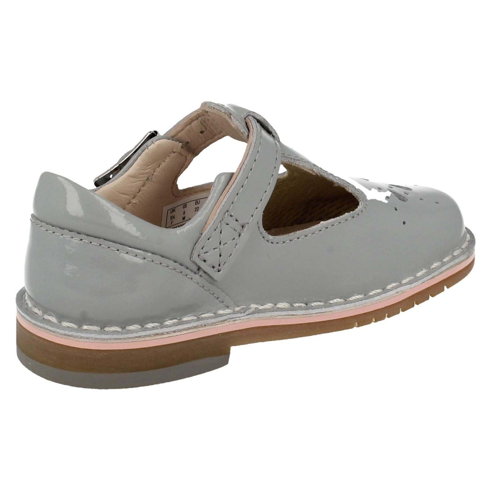 Yarn Weave Clarks Girls Smart Casual First Shoes