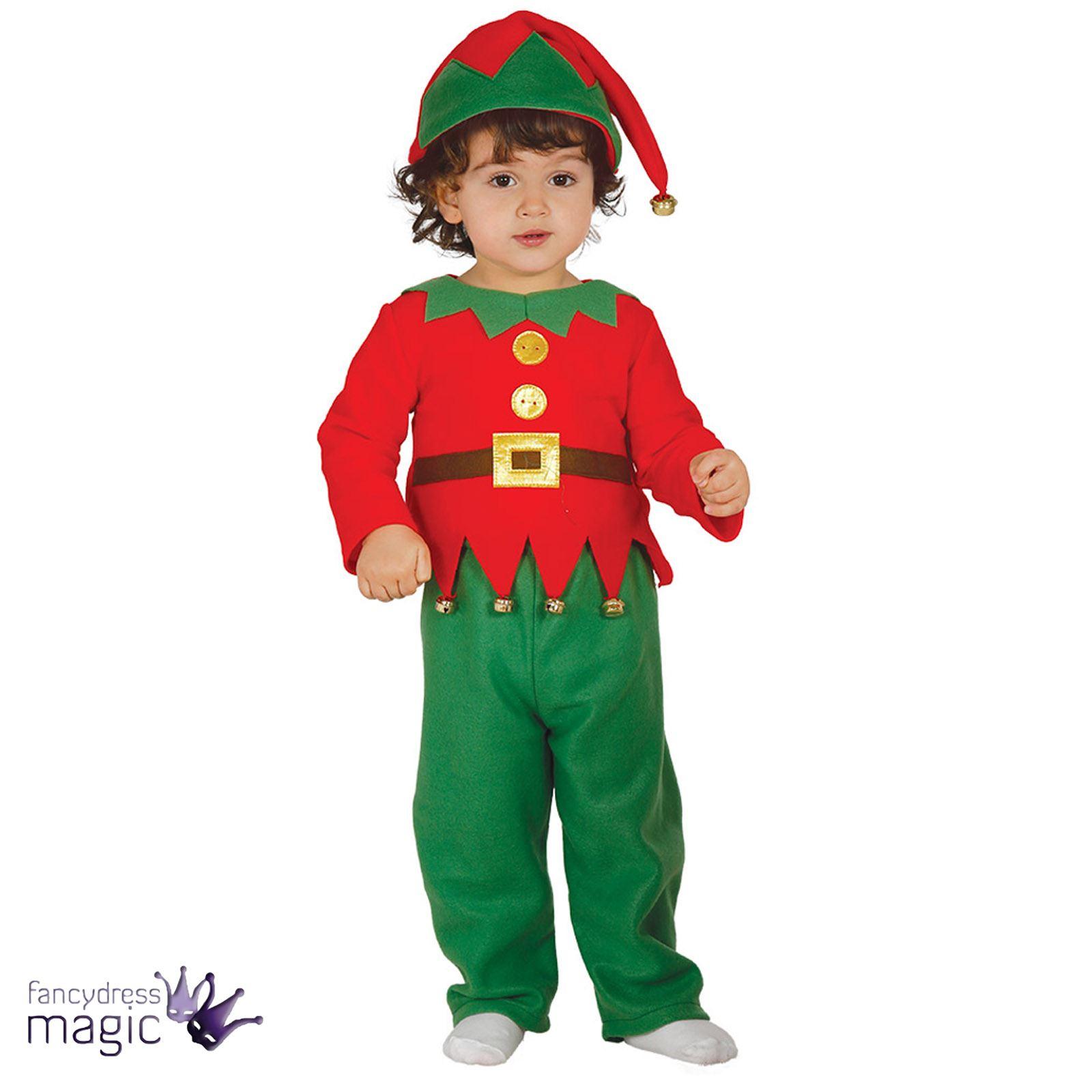 Beb ni o infantil navidad elfo ayudante de santa disfraz - Disfraz elfo nino ...