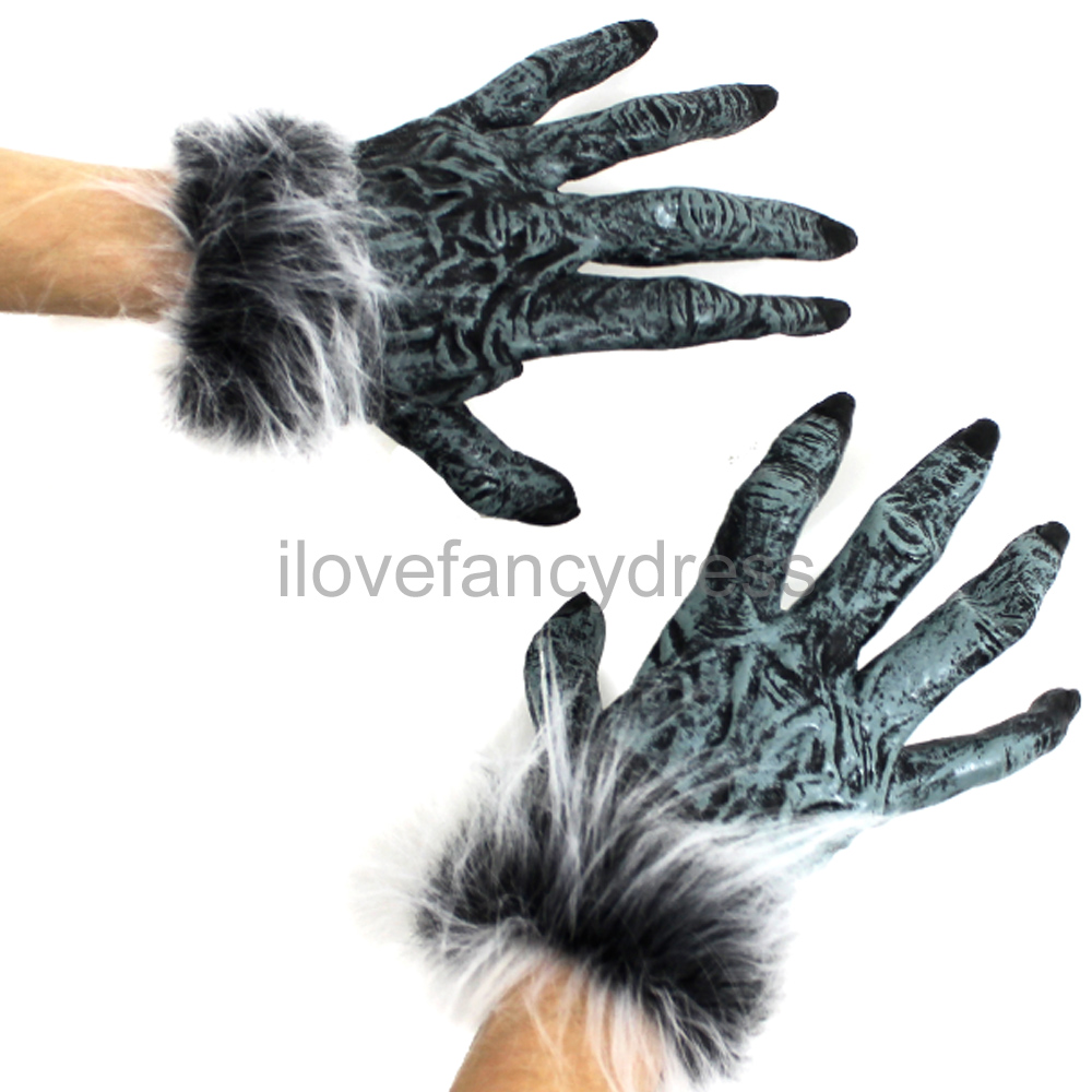how to make latex costume gloves
