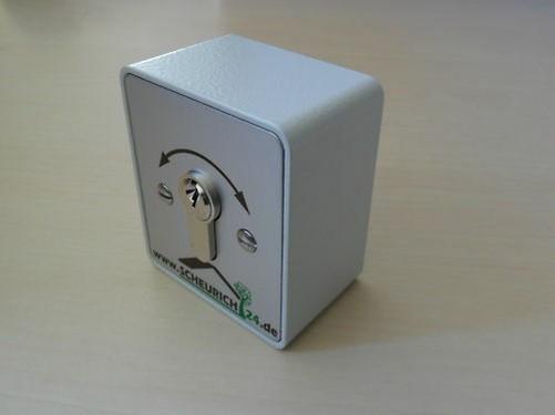 interrupteur clef interrupteur cl moteur porte garage portes ebay. Black Bedroom Furniture Sets. Home Design Ideas