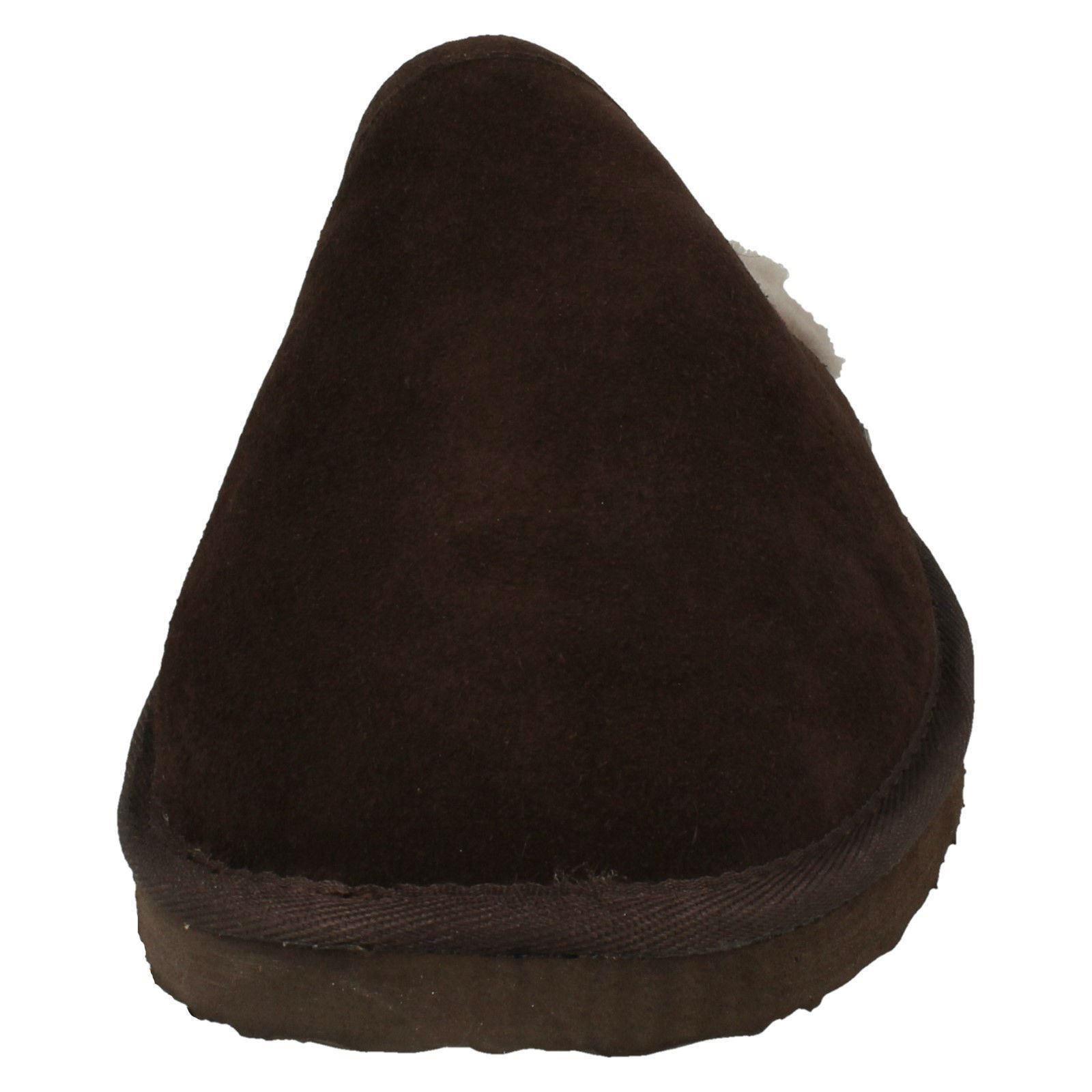 Uomo Padders Originale Foderato pelle di Pecora Ciabatte Nevis