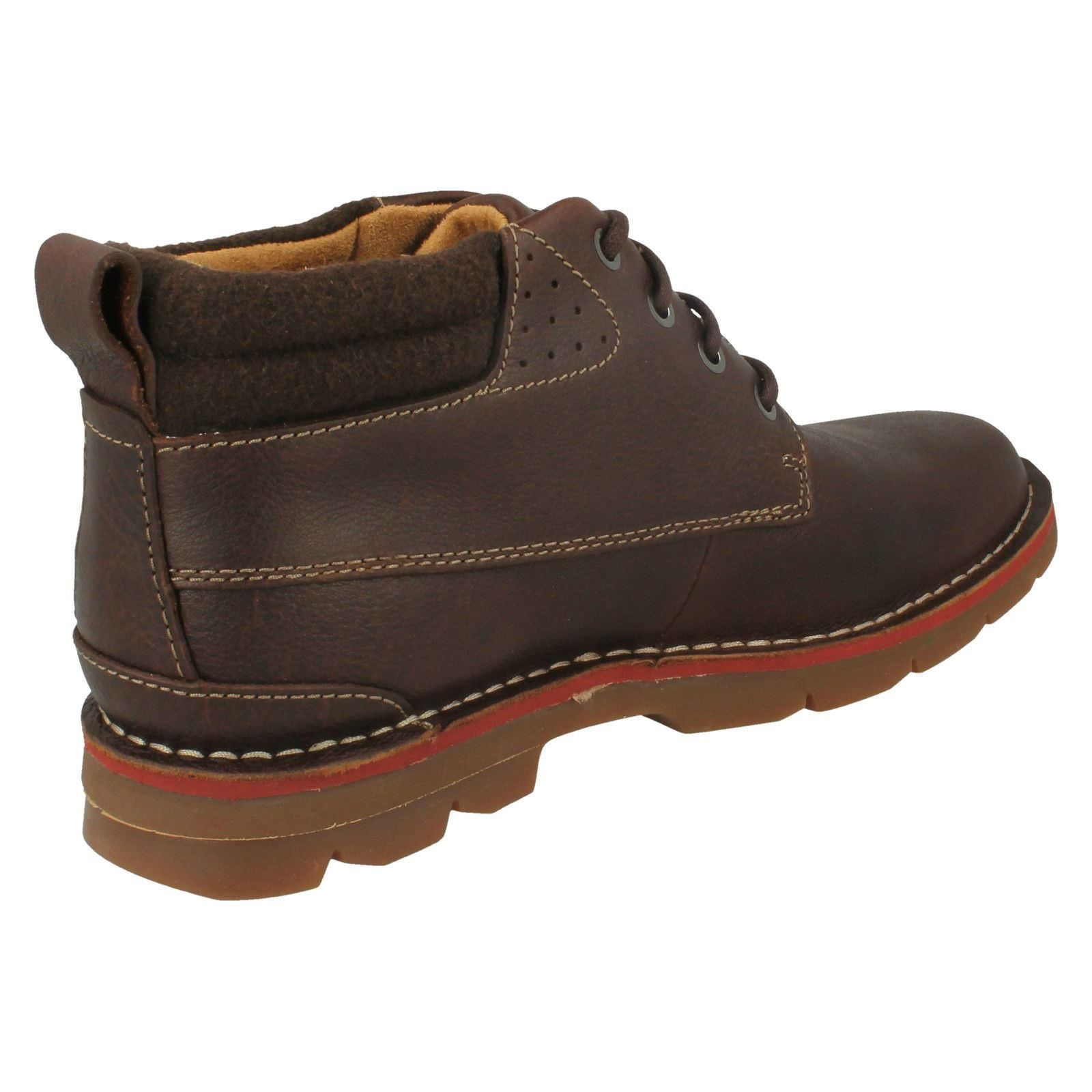 Mens-Clarks-Warm-Lined-Casual-Boots-039-Varick-Heal-039 thumbnail 3