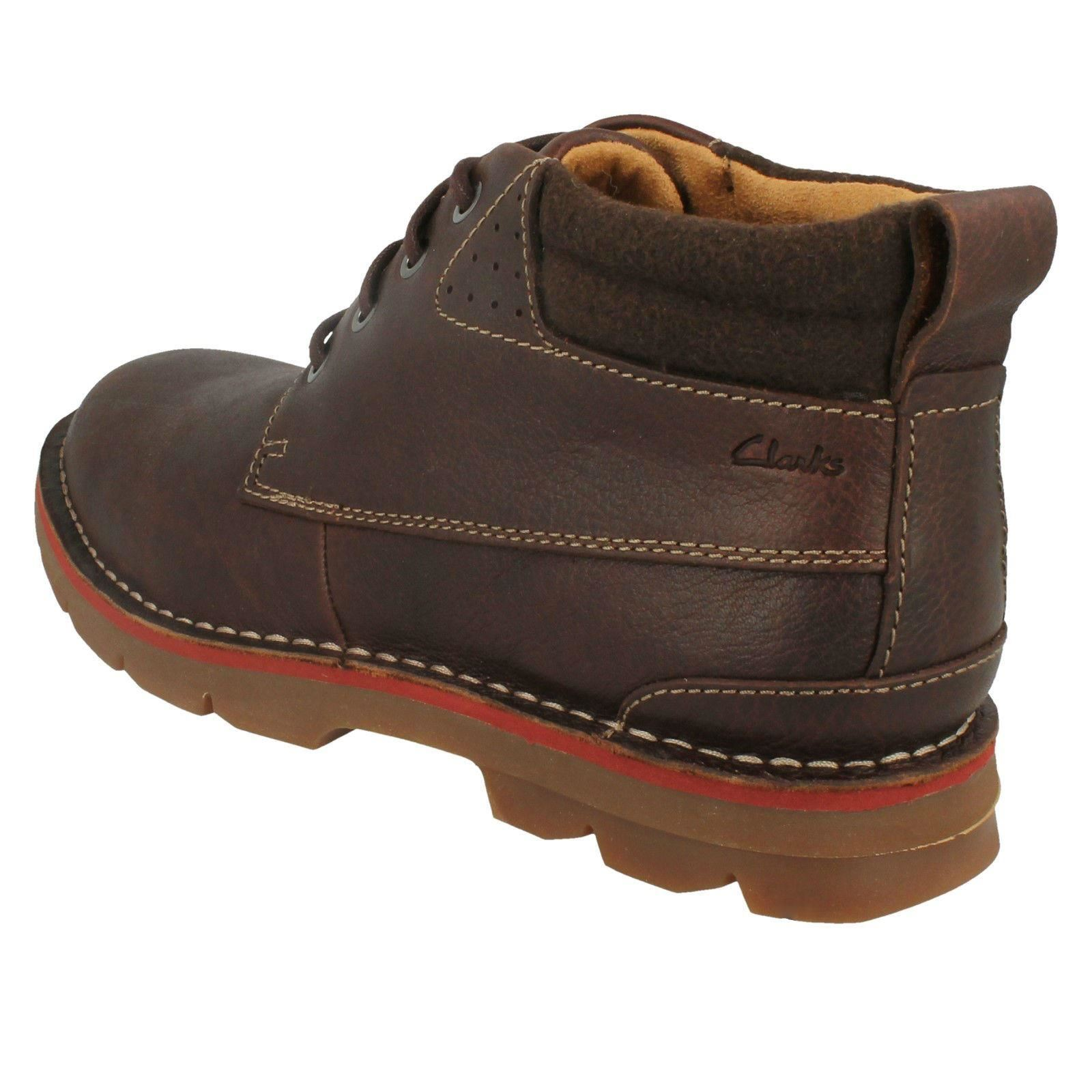 Mens-Clarks-Warm-Lined-Casual-Boots-039-Varick-Heal-039 thumbnail 8