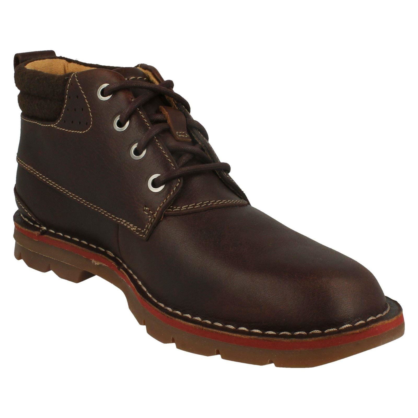 Mens-Clarks-Warm-Lined-Casual-Boots-039-Varick-Heal-039 thumbnail 4