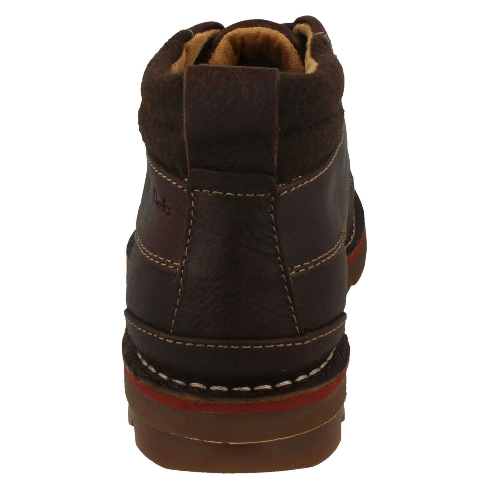 Mens-Clarks-Warm-Lined-Casual-Boots-039-Varick-Heal-039 thumbnail 7