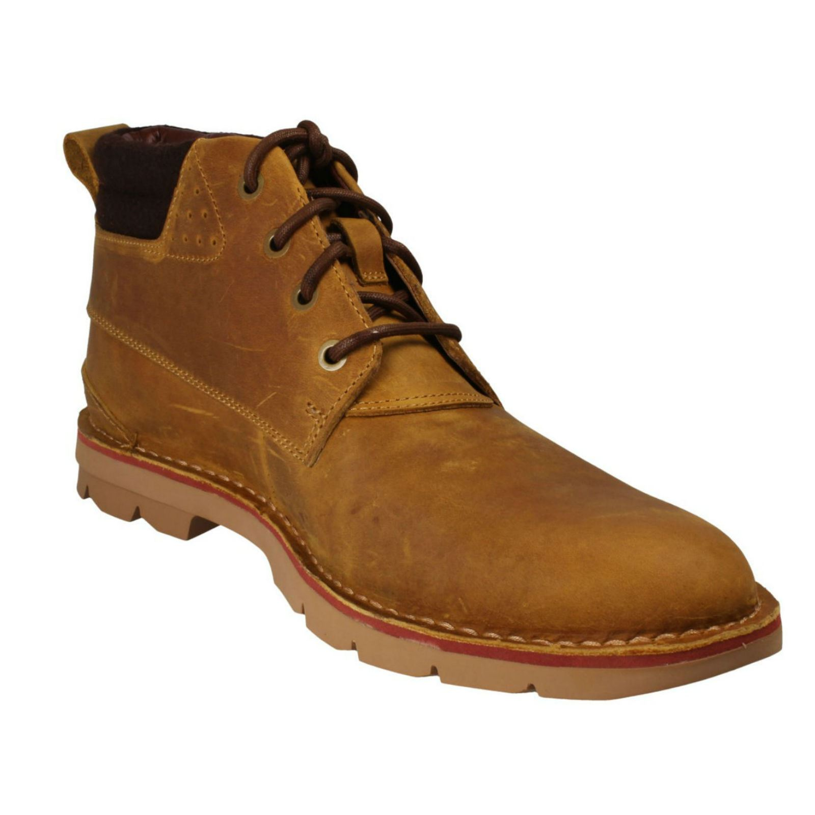 Mens-Clarks-Warm-Lined-Casual-Boots-039-Varick-Heal-039 thumbnail 16