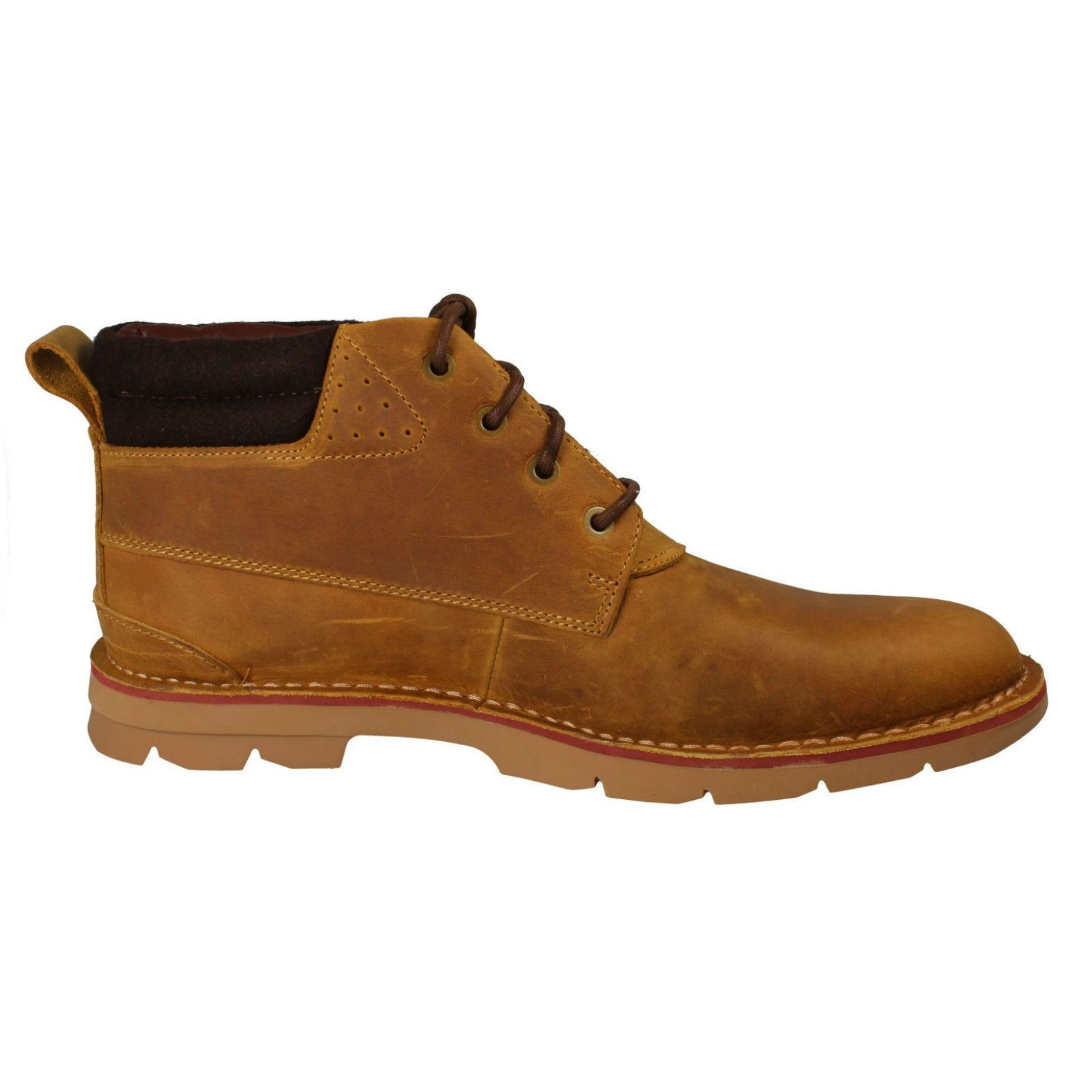 Mens-Clarks-Warm-Lined-Casual-Boots-039-Varick-Heal-039 thumbnail 14