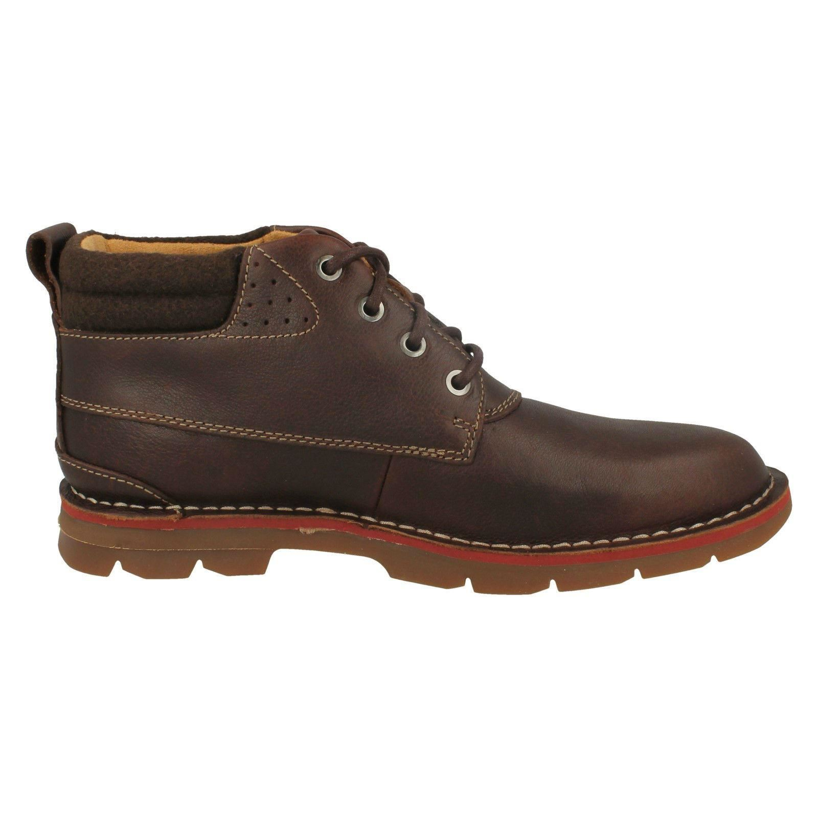 Mens-Clarks-Warm-Lined-Casual-Boots-039-Varick-Heal-039 thumbnail 9