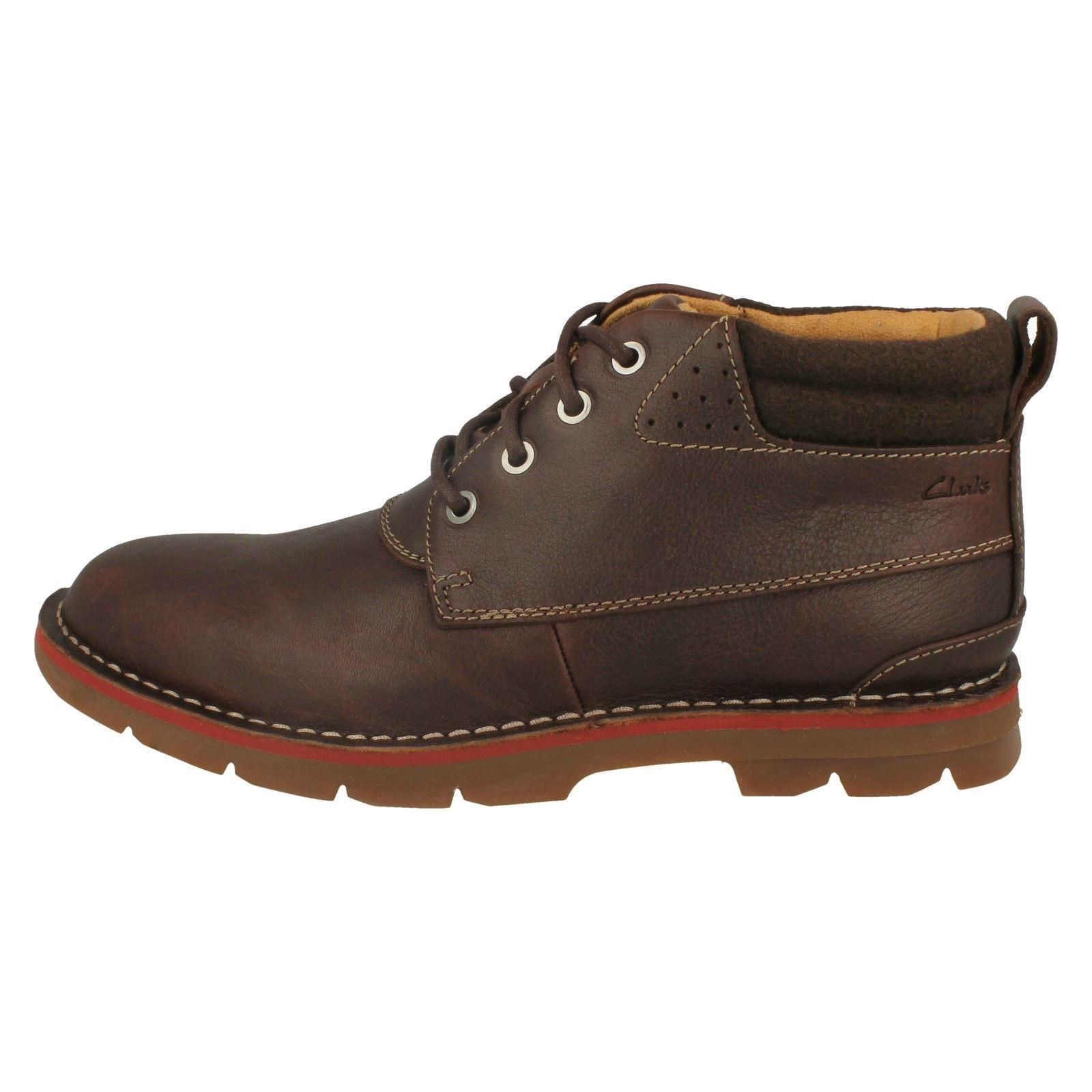 Mens-Clarks-Warm-Lined-Casual-Boots-039-Varick-Heal-039 thumbnail 6