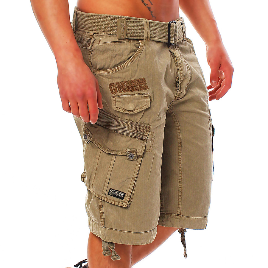 Geographical-Norway-People-Men-039-s-Cargo-Shorts-