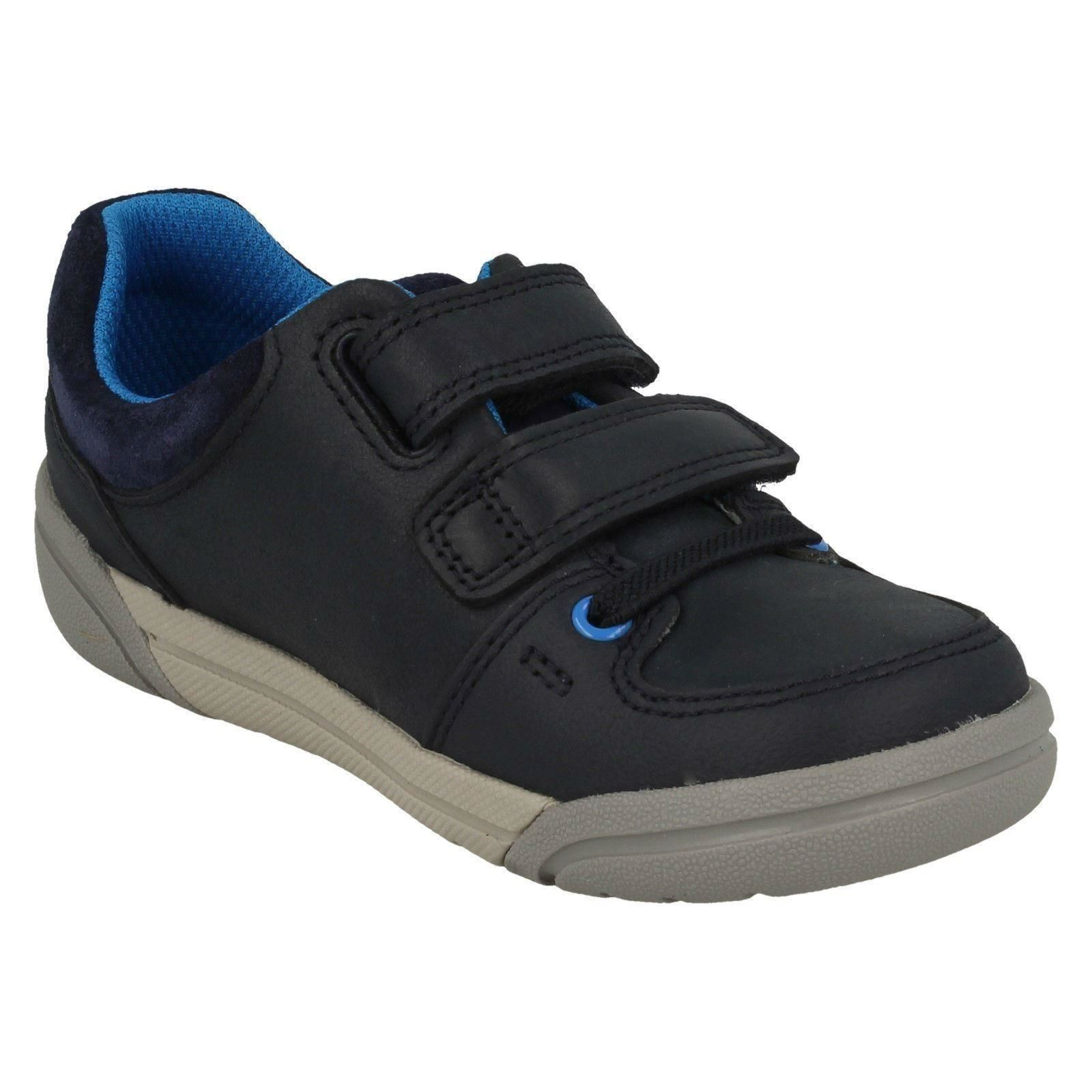 Clarks Boys Casual Shoes Tolby Buzz