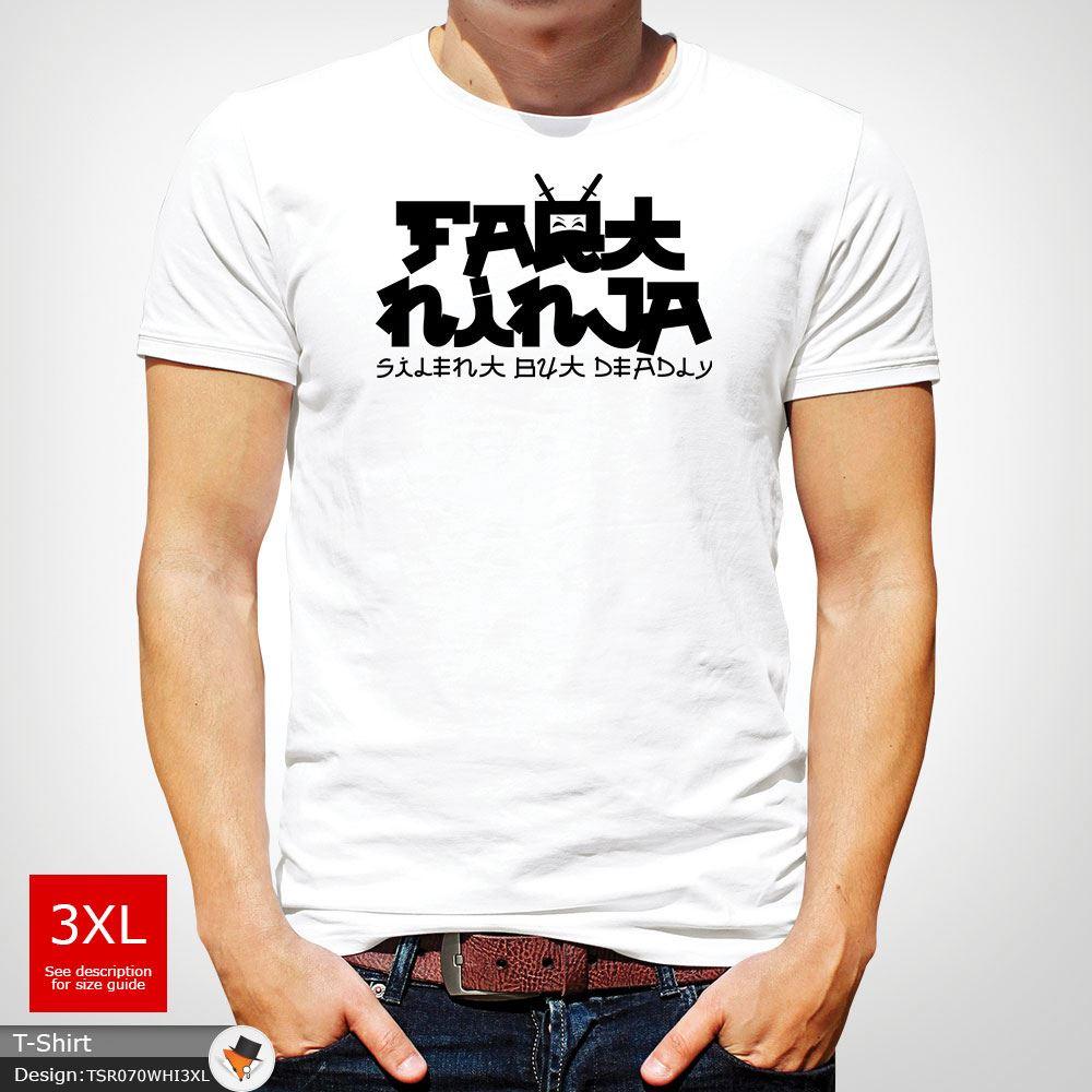 Furz Ninja Silent aber Tötlich Lustige Herren-T-Shirt ...