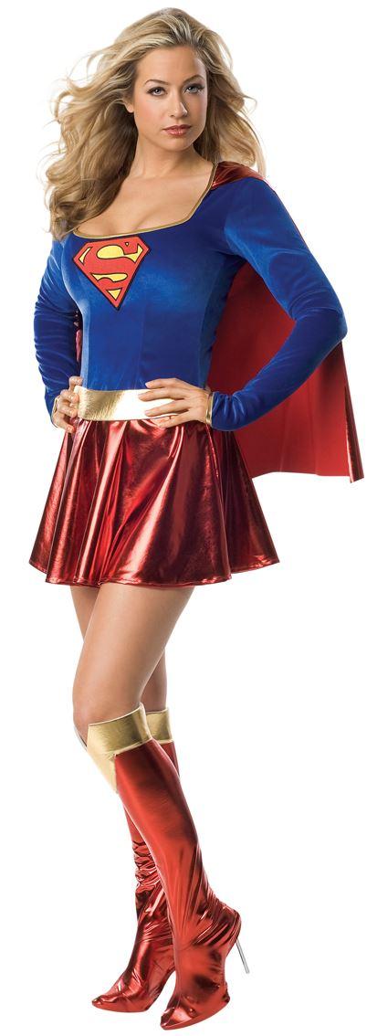 femmes supergirl d guisement superman super h ro femmes. Black Bedroom Furniture Sets. Home Design Ideas
