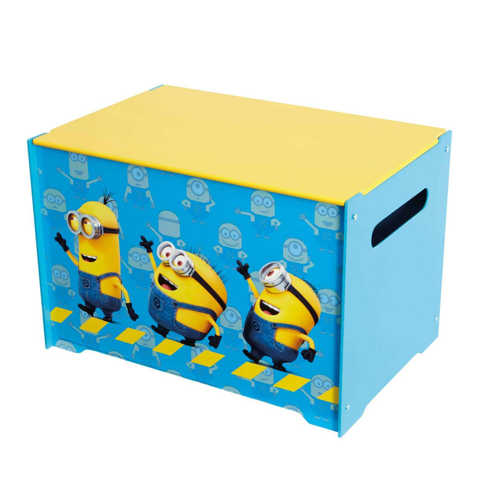 personnage disney boite jouet rangement de chambre cars minnie thomas peppa ebay. Black Bedroom Furniture Sets. Home Design Ideas
