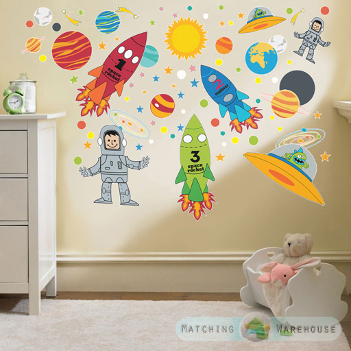 Childrens Bedroom Wall Sconces : Childrens Kids Themed Wall Decor Room Stickers Sets Bedroom Art Decal Nursery eBay