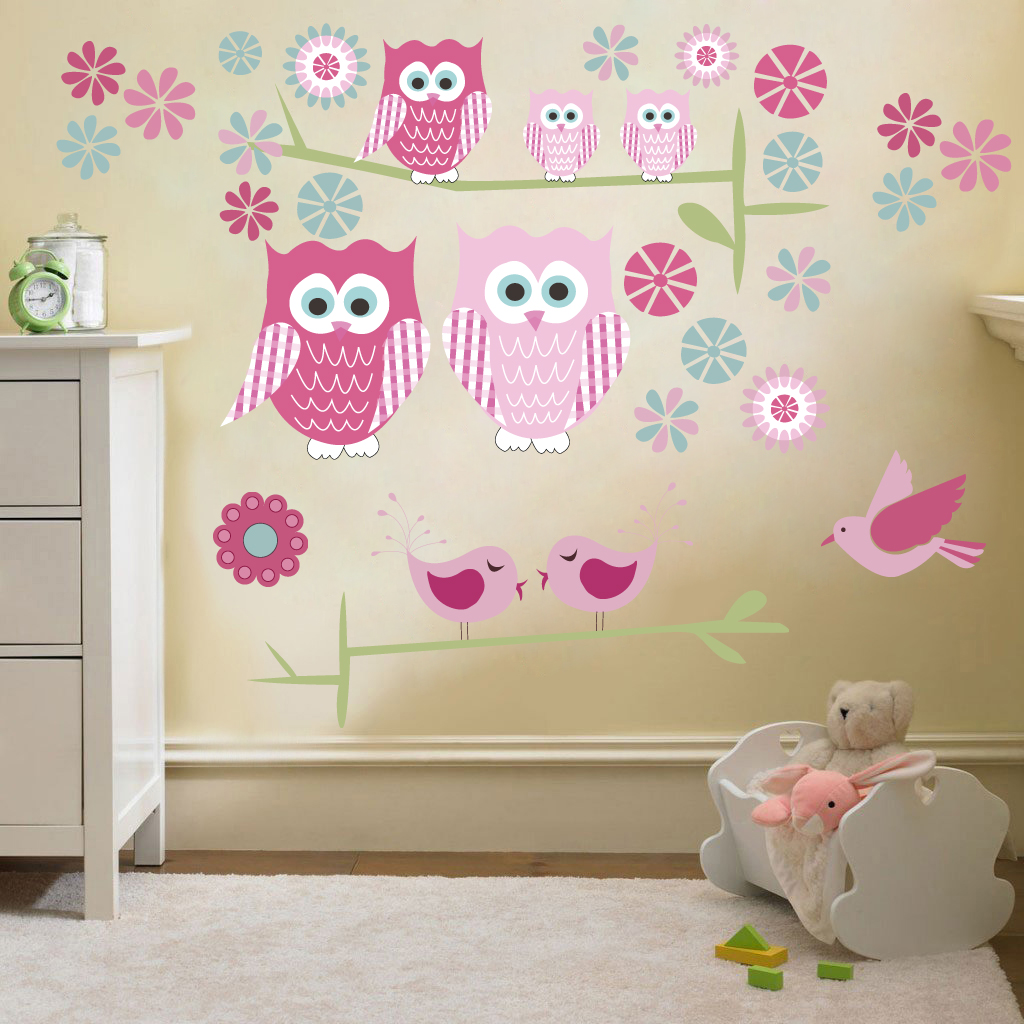 childrens kids themed wall decor room stickers sets fashion girl vinyl wall stickers for kids rooms living