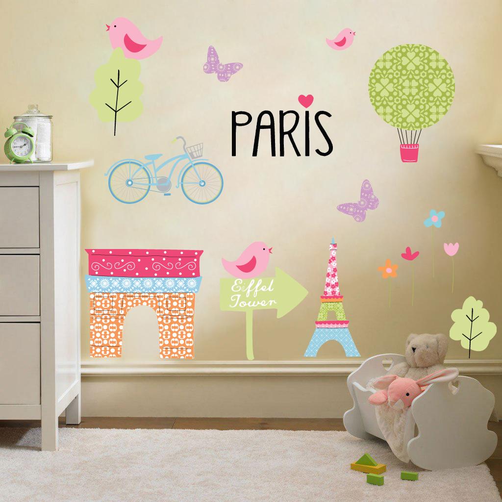 Infantil tem tico secoraci n de pared habitaci n pegatinas for Pegatinas habitacion infantil