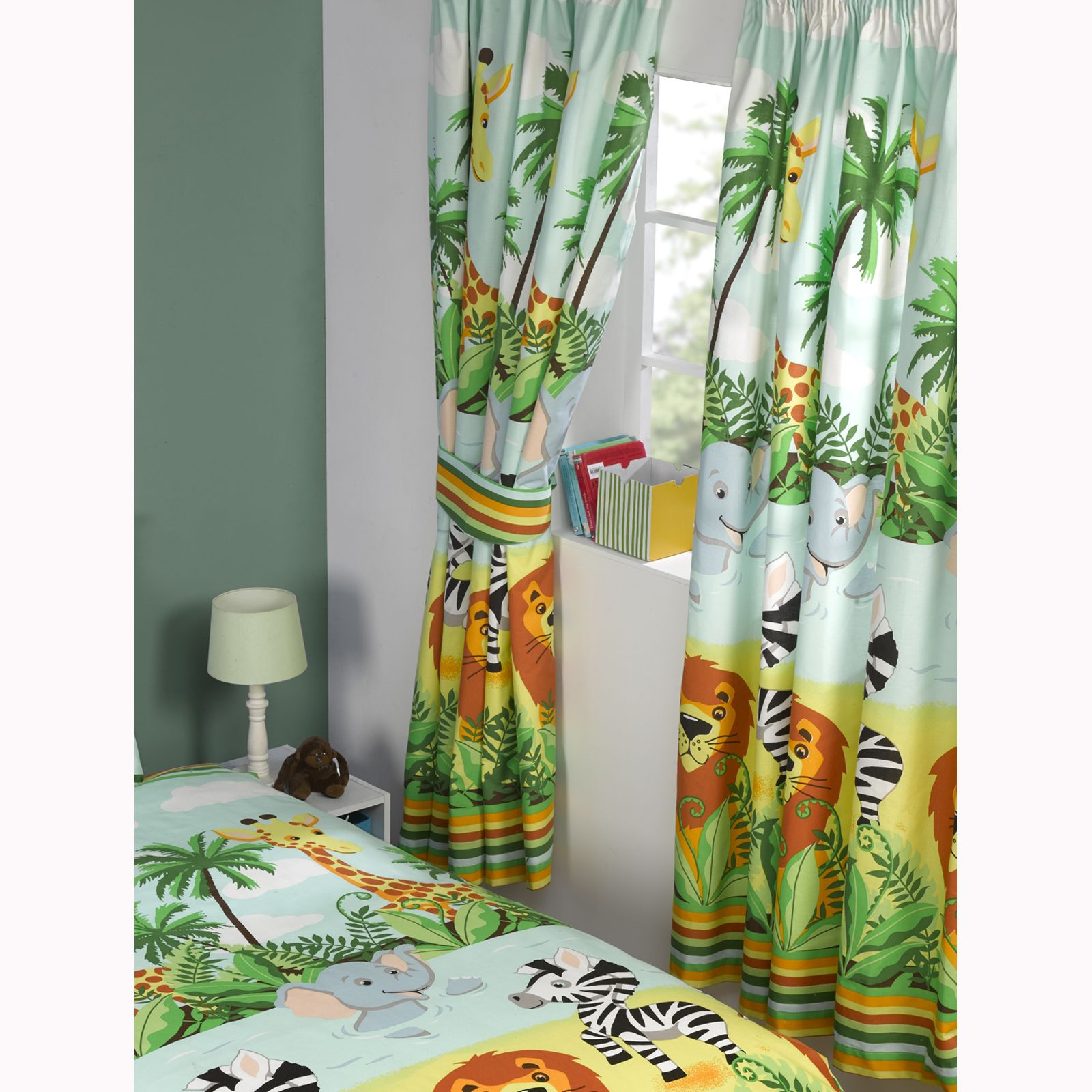 BOYS KIDS BEDROOM CURTAINS 54\