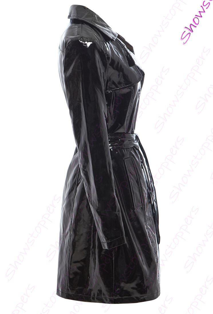 de-charol-para-Dama-Gabardina-MAC-impermeable-mujer-nuevo-talla-8-10-12-14