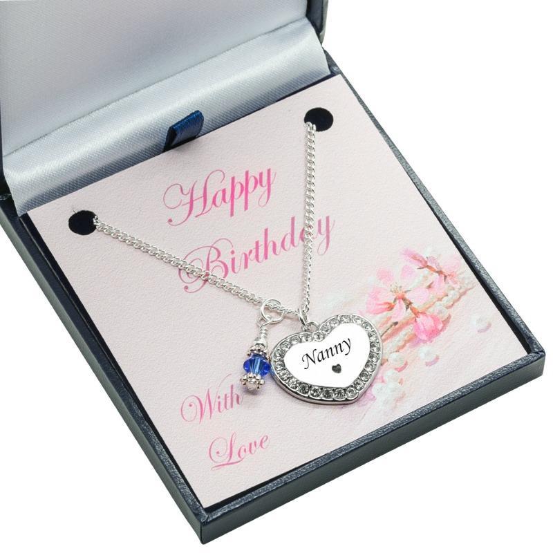 Geburtstagsgeschenk Halsketten für Sister, Mama, Tochter, Nanny usw ...