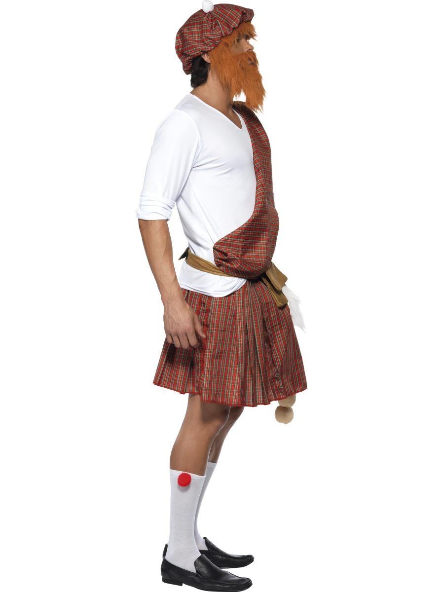 Hombre-bien-colgado-TIPO-Montanes-Escoces-Scotsman-CIERVO-DO-Disfraz