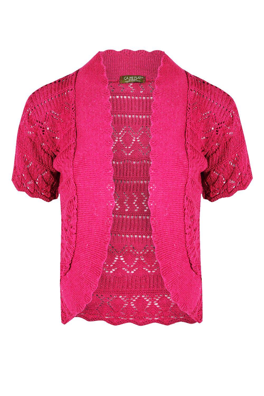 femmes crochet floral bout ouvert manches longues haut cardigan bol ro paule ebay. Black Bedroom Furniture Sets. Home Design Ideas